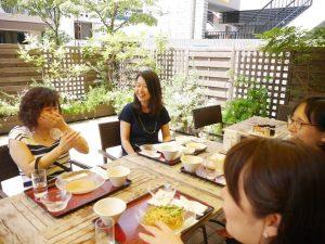 東京3期写真⑧ランチ